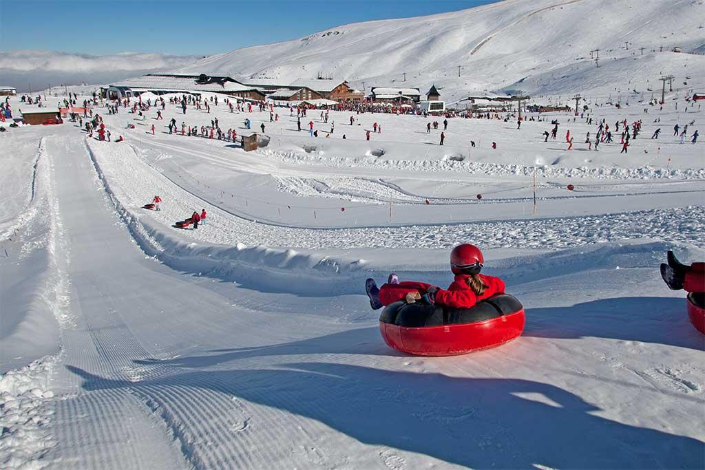 Guía Sierra Nevada: jugar en la nieve