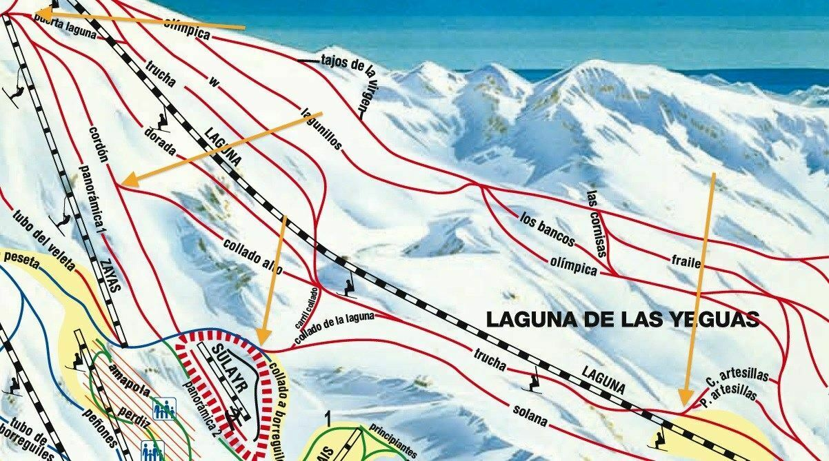 Como acceder a La Laguna