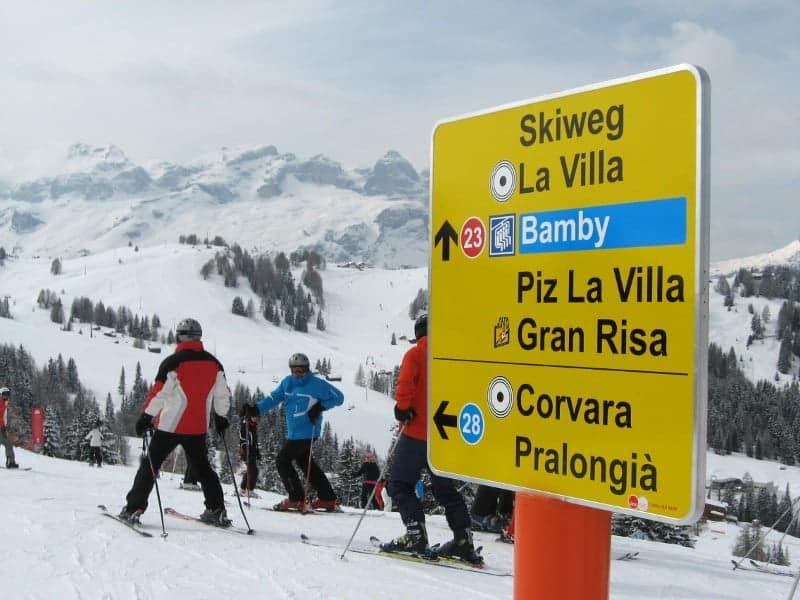 Snowboard entre Pinos en La Gran Risa