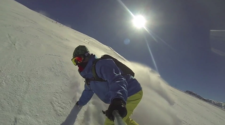 Slow Motion en Sierra Nevada con GoPro 3 Black Edition