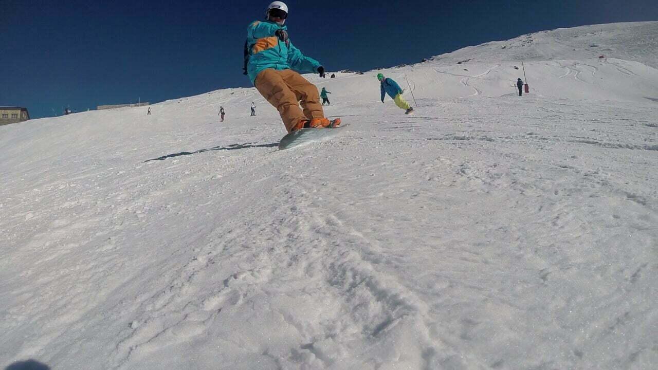 Inicio de Temporada de Snowboard 2015