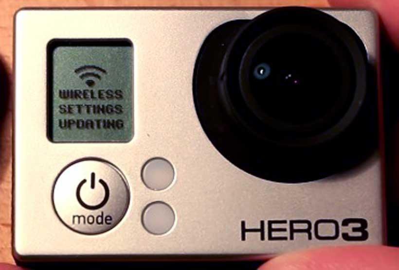 Cómo cambiar la contraseña wifi a una Gopro Hero 3 o 3+