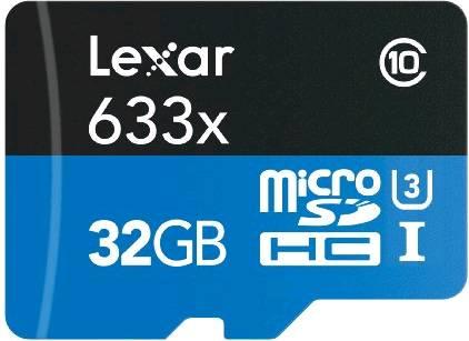 Necesitas tarjetas Micro SD de alta velocidad