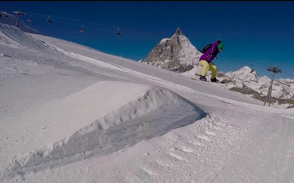 Snowpark Cervinia - Zermatt