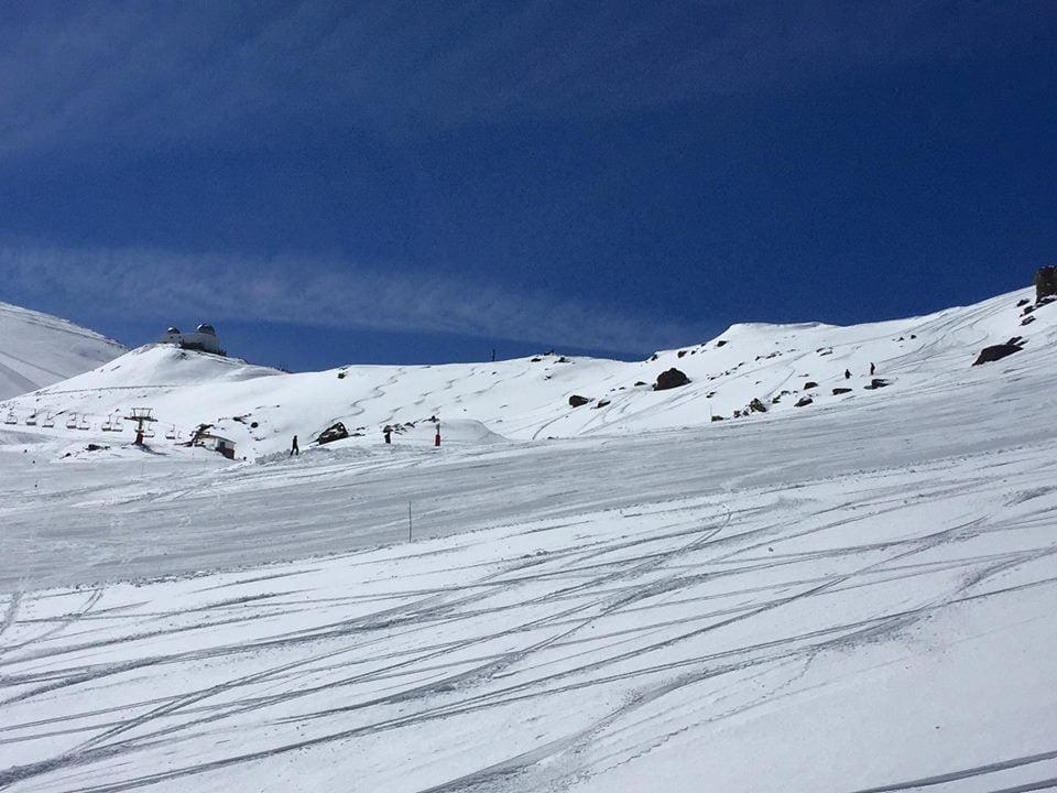 Free Snowboard primaveral en Sierra Nevada