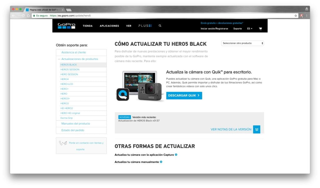 Actualizacion-Manual-GoPro-Hero-5-Black