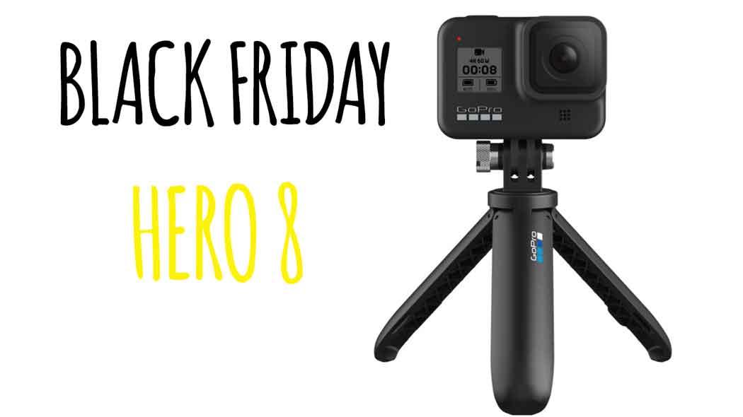 Oferta GoPro Hero 8 Black Friday