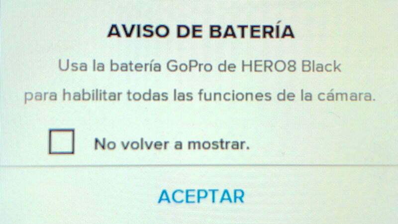 ¿Son Compatibles las baterias de Hero 7 en Hero 8?